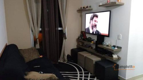 Apartamento Com 2 Dormitórios À Venda, 52 M² Por R$ 220.000 - Taquara. - Ap0291