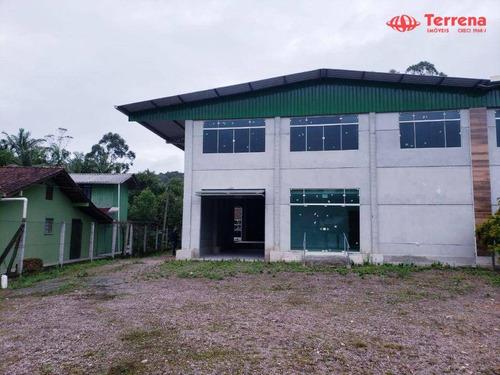 Imagem 1 de 7 de Galpão Para Alugar, 730 M² - Ponta Aguda - Blumenau/sc - Ga0188