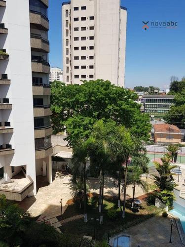 Imagem 1 de 25 de Flat Com 1 Dormitório À Venda, 40 M² Por R$ 250.000,00 - Centro - Santo André/sp - Fl0004