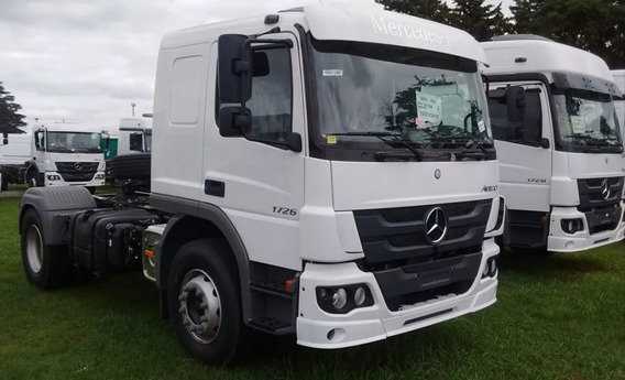 Camion Mercedes Benz Atego 1726 Cabina Normal 0km