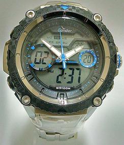 Relógio Masculino Condor Pulseira De Aço Coad1146aa/3a
