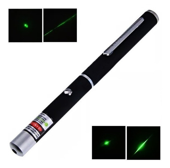 Kit 3 Apontador Sinalizado Caneta Laser Point Vários Efeitos