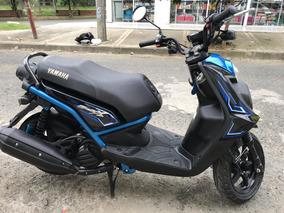 Moto Bws 125x Negro Azul 2018