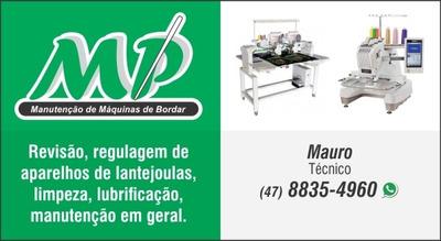 Manutenção De Máquina De Bordado