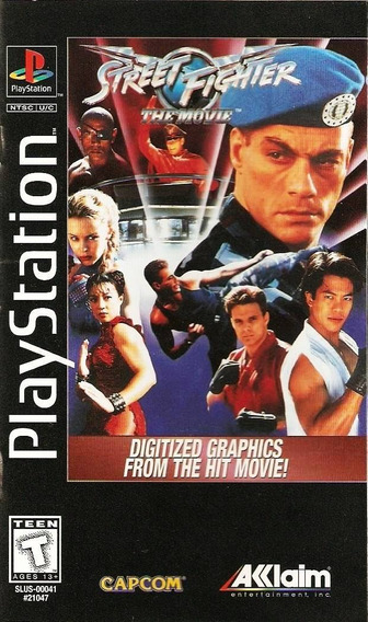 Street Fighter The Movie - Playstation 1 -