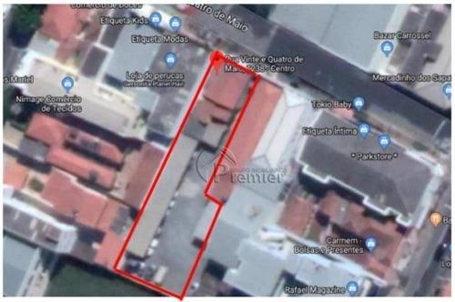 Imagem 1 de 2 de Terreno À Venda, 1110 M² Por R$ 5.650.000 - Centro - Indaiatuba/sp - Te0696