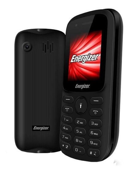 Telefono Celular Energizer E11 Negro 2g Dual Sim C/ Teclado