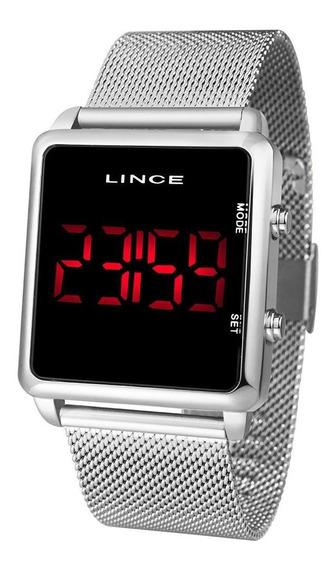Relógio Lince Urban Feminino Prata Mdm4596l Pxsx