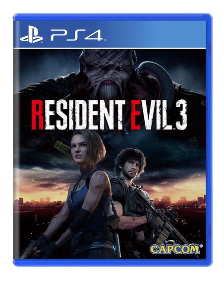 Resident Evil 3 Remake - Ps4 - Mídia Física Lacrado