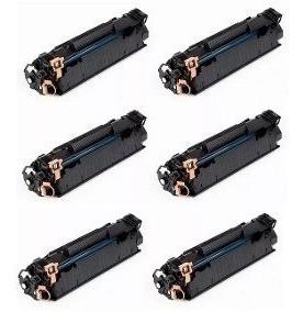 Combo Com 6 Toner 285a P/ Impresoras 1102w/1132w