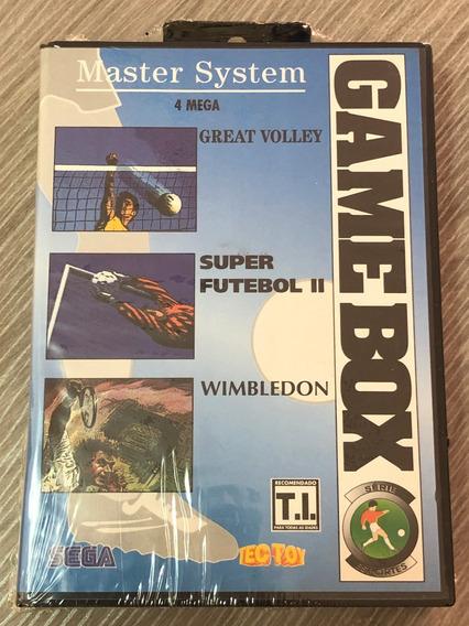 Master System : Game Box Serie Esportes Novo Lacrado Tectoy