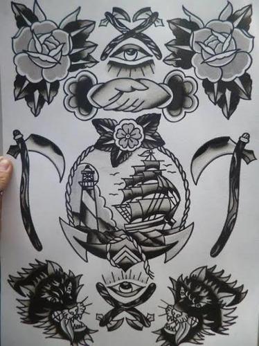 Imagem 1 de 5 de Promoção De Tatuagens! Flash Day Com Duração De Flash Week