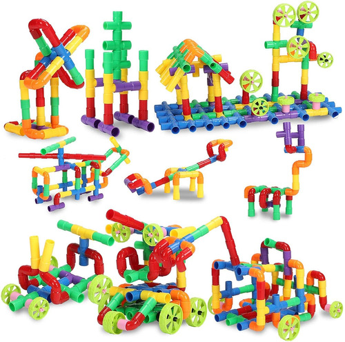 Stem Building Blocks Toy For Kids Educational Toddlers To...