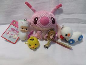 Chaveiro Lilo & Stitch Rilakkuma & Outros Importado Do Japão