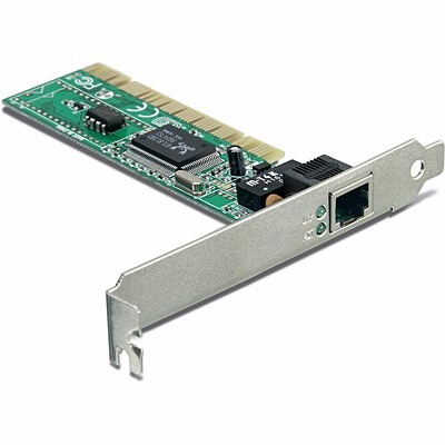 Placa Red Pci 10/100mbps Trendnet Te100-pciwn Ethernet