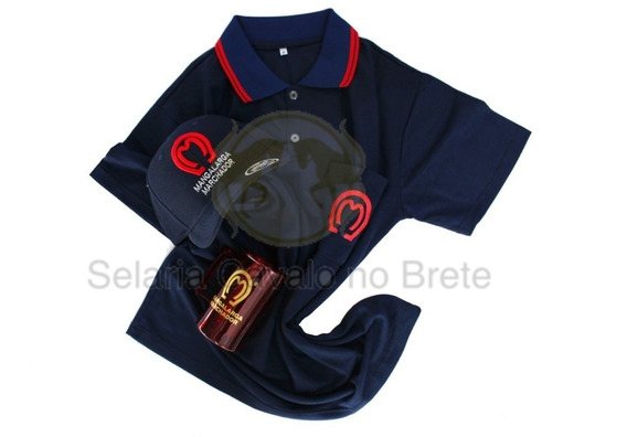 Camisa Feminina Mangalarga Baby Look + Bone E Brinde Caneca