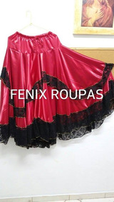 Saia Godê Pomba Gira Roupas De Santo/orixá/umbanda/candomblé