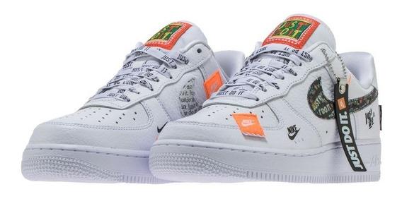 Zapatillas Nike Air Force 1 Just Do It Importadas