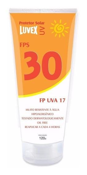 Protetor Solar Luvex Uv Fps 30