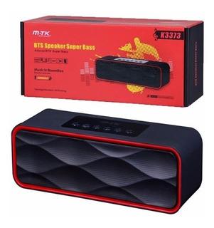 Parlante Pro Sonido Music Radio Fm K3373 Mtk Premium