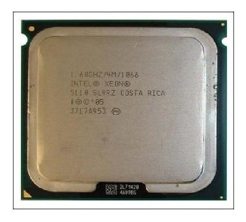 Processador Intel Xeon Dual Core 5110 1.6ghz/4m/1066mh