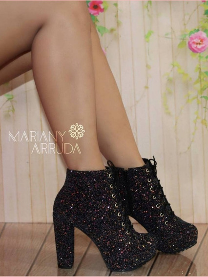 Bootie Lace - Up Glitter
