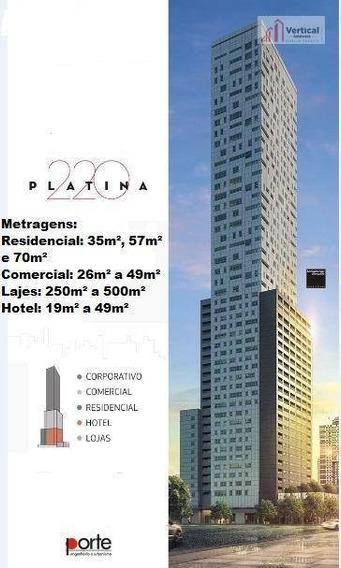Sala À Venda, 129 M² Por R$ 1.800.000,00 - Tatuapé - São Paulo/sp - Sa0505