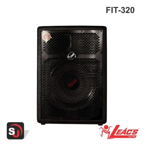Caixa Fit 320 Ativa 250w Rms C/ Usb - Bluetooth - Leac