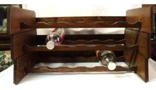 Bodega En Roble De Eslavonia Apilable Para 18 Botellas(280b)