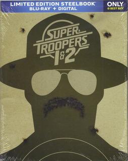 Blu-ray Steelbook --- Super Troopers 1 Y 2