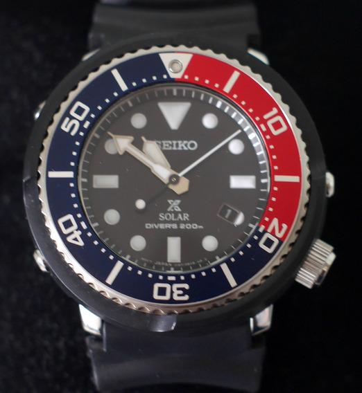 Relógio Seiko Tuna Solar Air Divers - 200m - Ed Limited