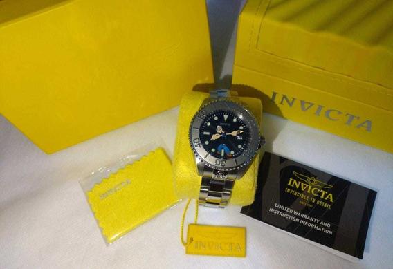 Relógio Masculino Invicta 24470 (popaye) Prata. Original!!!