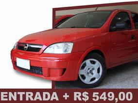 Corsa 1.4 Maxx Econoflex 5p 2010/ Entrada + R$549,00