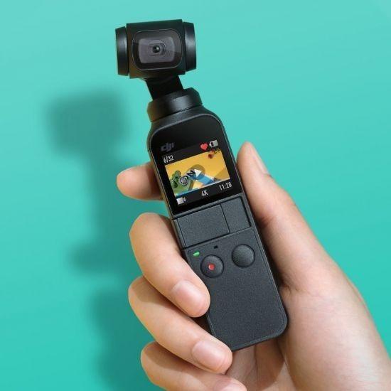 Osmo Pocket Dji, Câmera Digital 4k, Com Estabilizador E Nfe