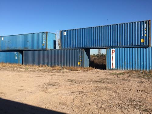 Containers Marítimos Nac Usados Excelente Condiciones