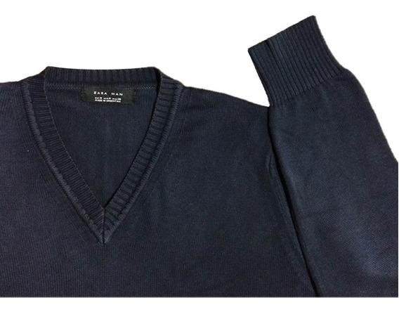 Suéter Masculino Zara Man M Importado Novo Promoção Original