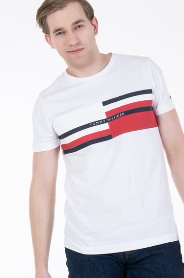 Camiseta Tommy Hilfiger Ab Abstract Stripe