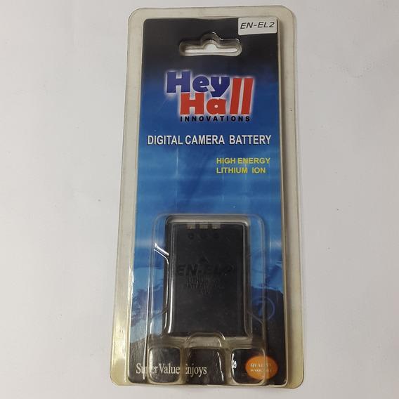 Bateria Câmera Digital En-el2 Enel2 3.7v 900mah Lithium