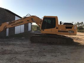 Escavadeira Hyundai 210 Lc-7, Revisada Com 7,600 Horas