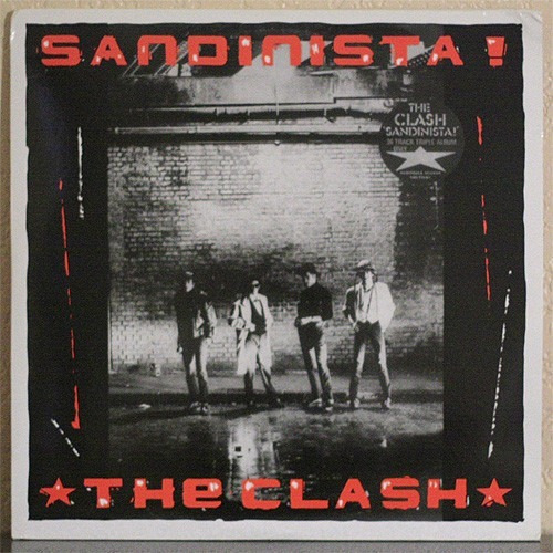 The Clash - Sandinista! 3 Lp Vinilo Rojos - Disco Vinilo Lp