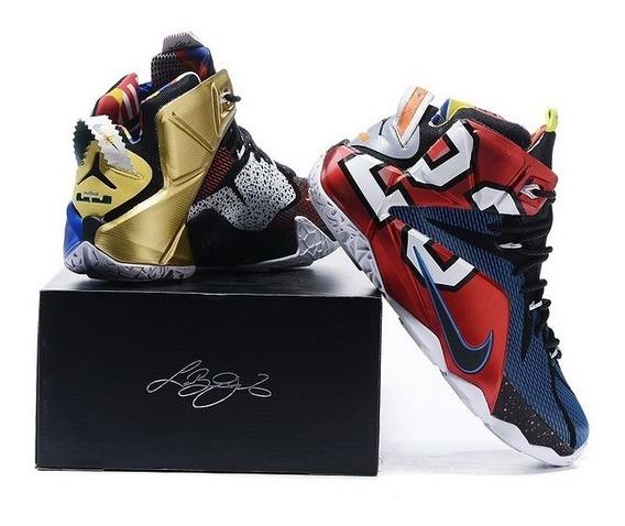 Tênis Nike Lebron 12 40 41 42 - Pronta Entrega Original