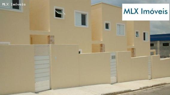 Casa Em Condomínio Para Venda Em Mogi Das Cruzes, Vila São Paulo, 2 Dormitórios, 2 Suítes, 3 Banheiros, 1 Vaga - 509_2-662286