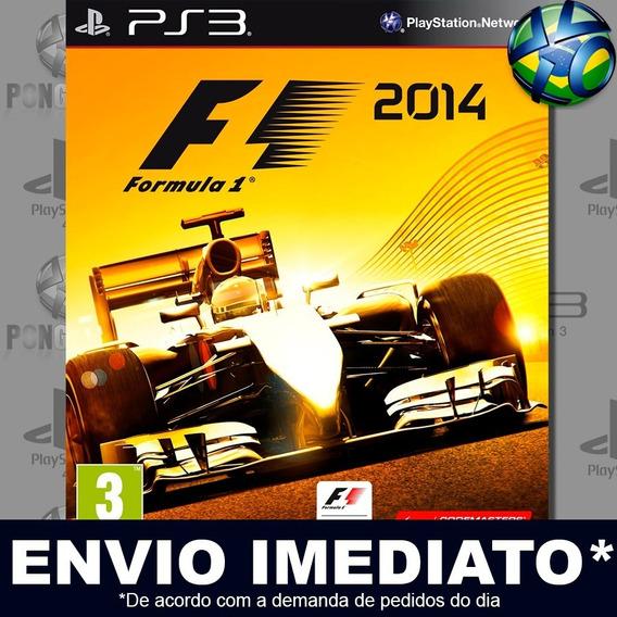 F1 2014 Ps3 Psn Idioma Inglês Jogo Promoção A Pronta Entrega
