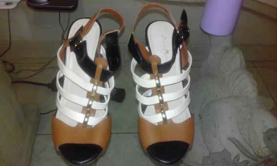 Zapatos De Dama Talla 35 Suela De Goma