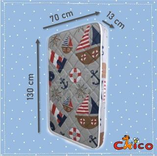 Colchon Para Cuna (bebé) 70x130x13
