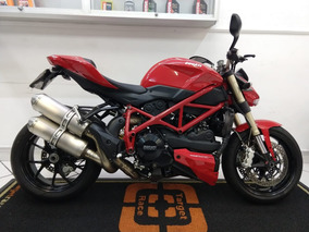 Ducati Streetfighter 848 Vermelha 2013 - Target Race