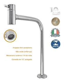 Torneira Banheiro Link Alta Mesa Metal Com Veneza 1199