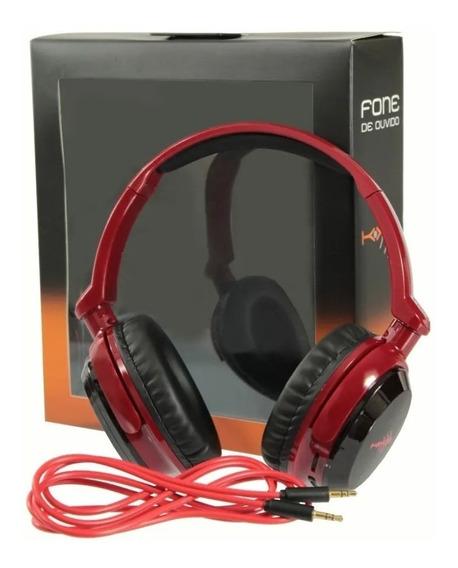 Fone De Ouvido Headphone Dobrável Infravermelho Kx3 (br,vr)
