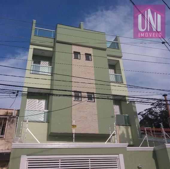 Cobertura Residencial À Venda, Vila Metalúrgica, Santo André. - Co0587