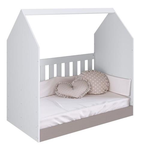 Cuna Cama Casita Corral Infantil Para Bebes 70x130cm